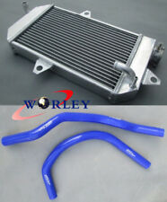 FOR ATV YAMAHA banshee YFZ350 YFZ 350 oversized Aluminum Radiator & HOSE KIT