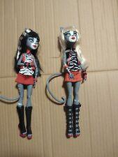 Monster High Werecat Twins Meowlody Purrsephone Shoes Outfit Dress Lot C