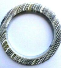 LOOK 5 PHOTOS Jackie Brazil Sobral Bangle Bracelet Grey Stripes - Preloved