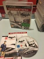 ❤️ Playstation 3 PS3 Pal Fr Batman Arkham City Édition Game Of The Year