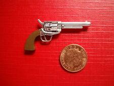 "12"" 1/6 Scale Action Figure Cowboy Gun Revolver Pistol Metal Dragon BBI"