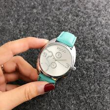 New Fashion Women's Leather Wristwatch quartz bear Wristwatch  2012P