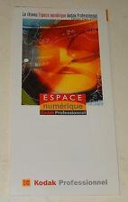 Dépliant : Le Réseau Espace numérique KODAK Professionnel - Edition Mars 2000