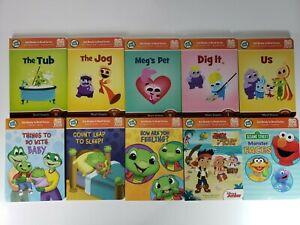 Leap Frog TAG Junior Books Lot of 10 Sesame Street Disney Short Vowels Learning