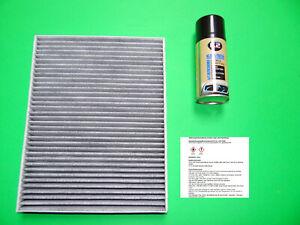 Aktivkohle Pollenfilter / Innenraumfilter + Klimareiniger Porsche Cayenne (955)