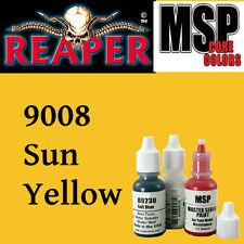 SUN YELLOW 9008 - MSP core 15ml 1/2oz paint peinture figurine REAPER MINIATURE