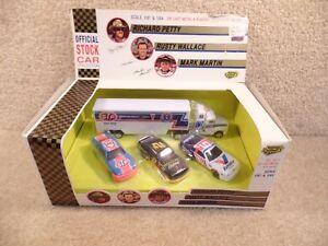 New 1992 Road Champs 1:64 Diecast NASCAR Richard Petty Rusty Wallace Mark Martin