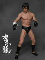 Bruce Lee Action Figure Collector Model Kung Fu PVC Statue Decoration Toy Gift