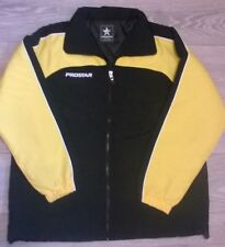 PROSTAR padded training jacket coat football  Black yellow Size Large/XL