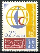 ALGERIE N°383** Centenaire de la Croix-rouge ,1963 ALGERIA  Red-cross MNH