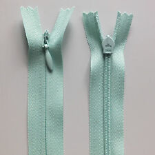 "56cm 22"" Inch Invisible Concealed Long Dress Zip - Alternative to YKK MINT Green"