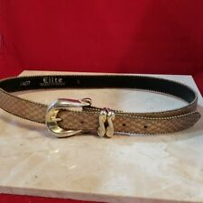 Vintage Belt - Elite Bronze and Gold Belt Size S