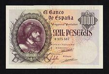 F.C. 1000 PESETAS OCTUBRE 1940 , SIN SERIE , EBC+ , MARQUITA EN LATERAL .