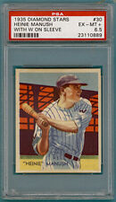 1935 Diamond Stars Heinie Manush - #30 PSA 6.5! Senators!