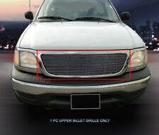 Fits 1999-2004 Ford F-150 F150 Billet Grille Grill  2 Bar Style