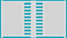 """portail aluminium droit """"CARPIQUET"""" dimensions standard & sur mesure vendu au M²"""