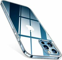 Hülle für iPhone 12 Pro Max Silikon Schutzhülle Handyhülle TPU Tasche Klar Slim
