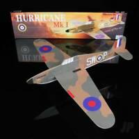 Hurricane Mk 1 Balsa Model Aircraft Kit - Wingspan 410mm