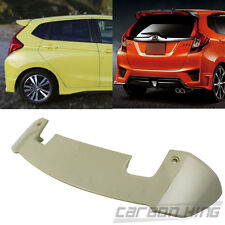 Item In AU Unpainted For Honda  Jazz 5D Hatchback RS Look Rear Trunk  Spoiler