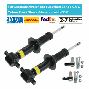 Pair Front Shock Absorber Strut Fit Cadillac Chevy Escalade GMC Yukon XL 1500