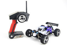 RC Buggy Offroad 2,4GHz 50km/h Rayline Funrace Allrad 1:18 RC Auto blau RTR 4WD