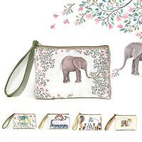 Mini Women's Elephant Elk Whale Cat Printed Handbag Coin Purse Phone Bag