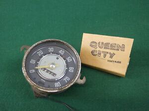 111957023 speedometer early Volkswagen Beetle Bug 9.58 dated 1958 VW
