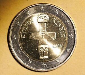 monnaie  Chypre 2  Euro, 2008, SUP,  cc62