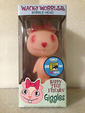 FUNKO HAPPY TREE FRIENDS GIGGLES WACKY WOBBLER BOBBLE HEAD SDCC 2007 1OF240 NEW