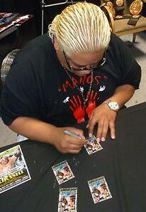 Stone Cold Steve Austin & Rikishi Signed 2001 Fleer WWF Raw is War Card #88 WWE