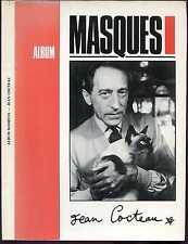 JEAN COCTEAU - ALBUM MASQUES. Dossier de la Revue des Homosexualités. 1983