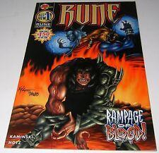 1995 MALIBU COMICS ULTRAVERSE RUNE ALL NEW #1 (UNREAD) MINT CONDITION