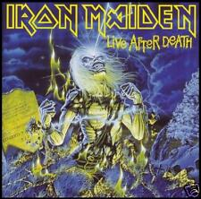 IRON MAIDEN (2 CD) LIVE AFTER DEATH D/Rem ~ 80's METAL ~ BRUCE DICKINSON *NEW*
