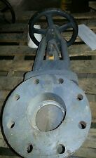 GRINNELL 6020A 8 BOLTS 125SWP 200WOG 125 STEEL FLANGED 4 IN GATE VALVE B221047