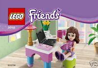 Lego Friends Exklusiv-Set 30102 Olivia Desk / Schreibtisch