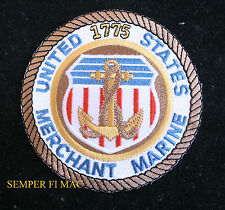 UNITED STATES MERCHANT MARINE PATCH USS US NAVY VETERAN 1775 PIN UP VETERAN WOW!