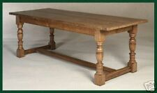 OAK REFECTORY TABLE / DINING TABLE MADE TO YOUR SIZE