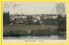 cpa 78 - MAISONS LAFFITTE (Yvelines) Le Coteau VILLAGE bords de SEINE