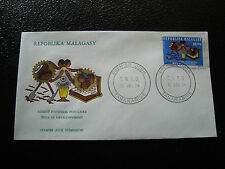 MADAGASCAR - enveloppe 16/12/74 - developpement - yt n° 553 - (cy7)