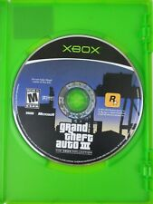 Grand Theft Auto III Microsoft Xbox Game GTA3