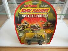 Majorette Sonic Flashers Special Forces Depanneuse in Army Green on Blister