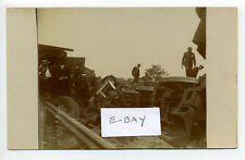Denley Ny (Oneida Co) near Boonville railroad train wreck 1908