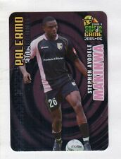 figurina PANINI CALCIO CARDS GAME 2005-06 N. 129 PALERMO MAKINWA