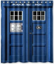 """Doctor Who Waterproof Polyester Shower Bathroom Curtain 60""""x72"""" Home Decoration"""