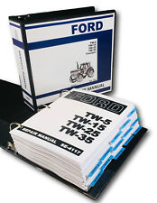 FORD TW-5 TW-15 TW-25 TW-35 TRACTOR SERVICE REPAIR MANUAL SHOP BOOK OVERHAUL