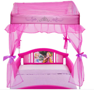 Disney Princess Canopy Toddler Bed in Pink by Delta Children BRAND NEW!