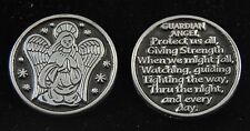 Guardian Angel with Poem Pocket Token Coin - set of 2