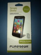 Lot Of 10pc New PureGear Crystle Clear Screen Protector For iPhone 5/5s