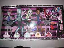 NIB MONSTER HIGH DANCE CLASS 5 PACK DOLLS GIL ROCHELLE LAGOONA ROBECCA OPERETTA