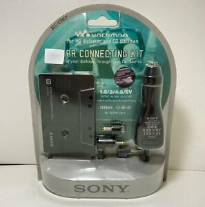 Vintage Sony CPA9 Car Cassette Adapter / Power Kit for CD/MD Walkman (DCC-E34CP)